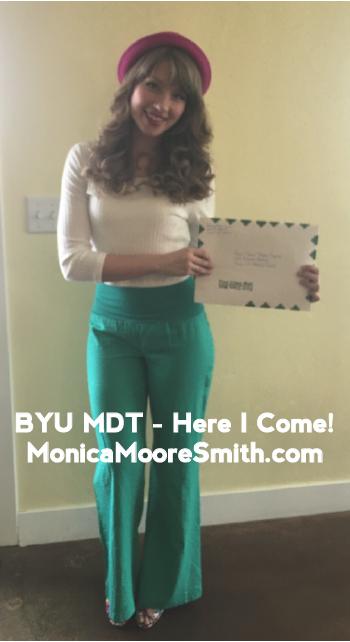 BYU MDT Acceptance Letter