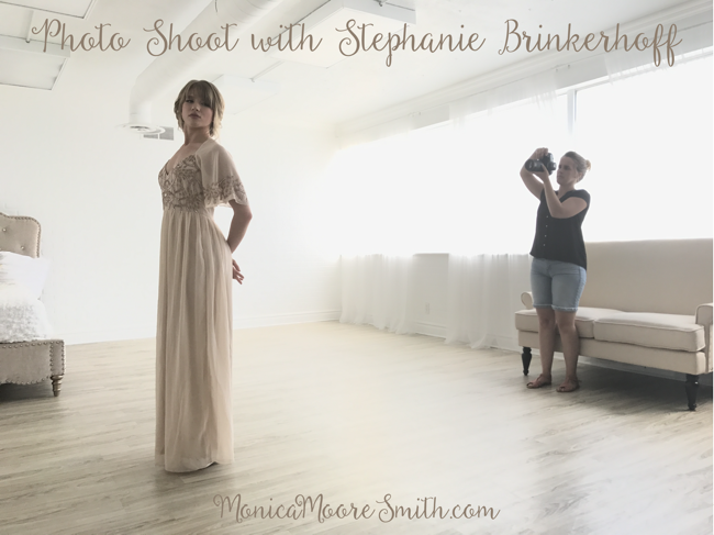 Photo Shoot with Stephanie Brinkerhoff - Hair and Makeup by Steph