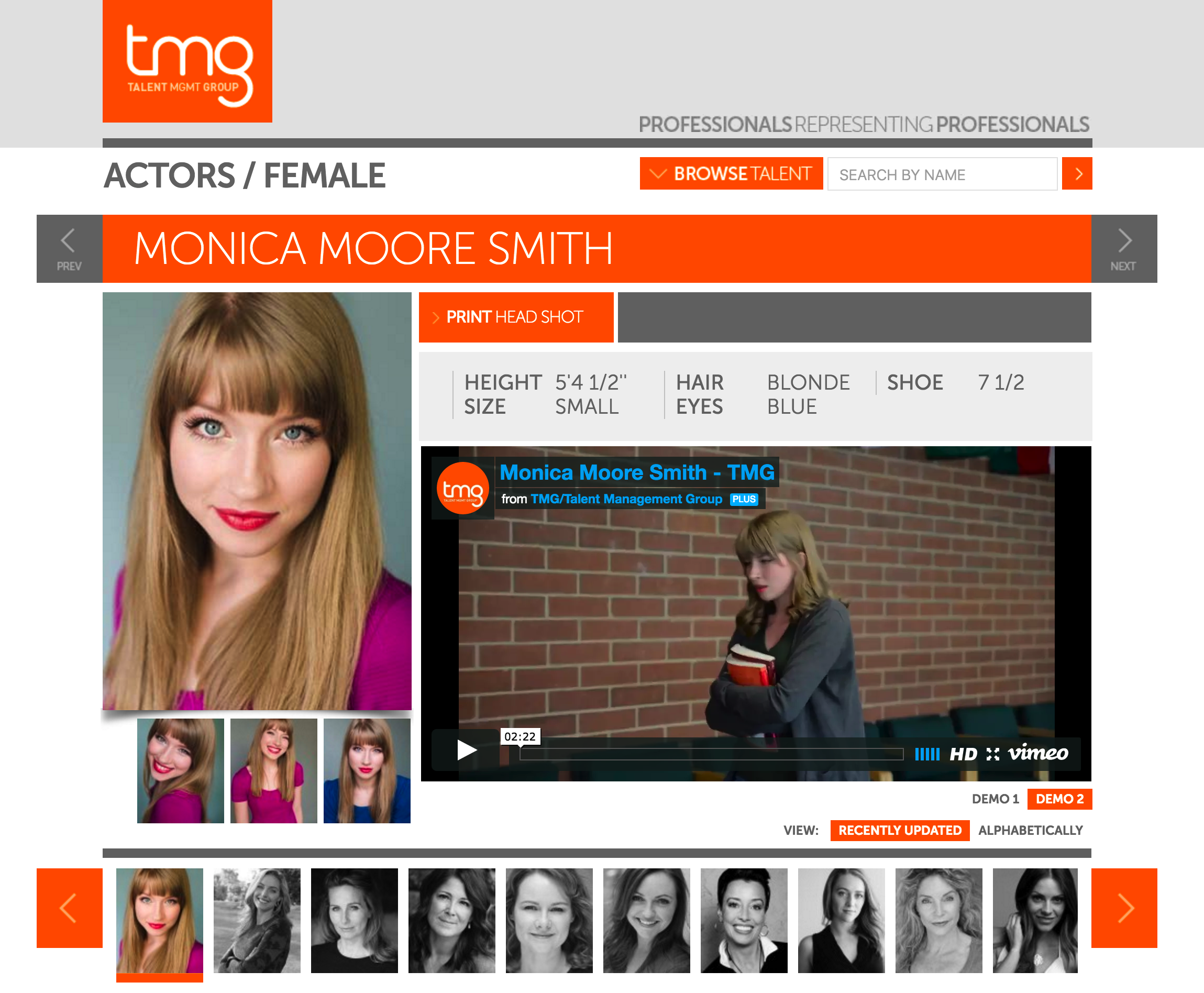 Monica Moore Smith - Talent Management Group - TMG