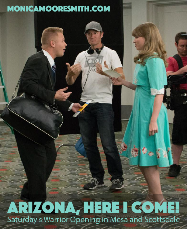 Arizona Here I Come - Saturday's Warrior Opening