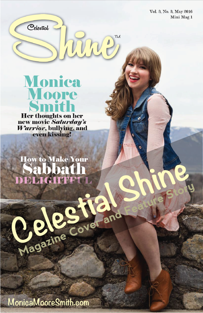 Celestial Shine Magazine Cover