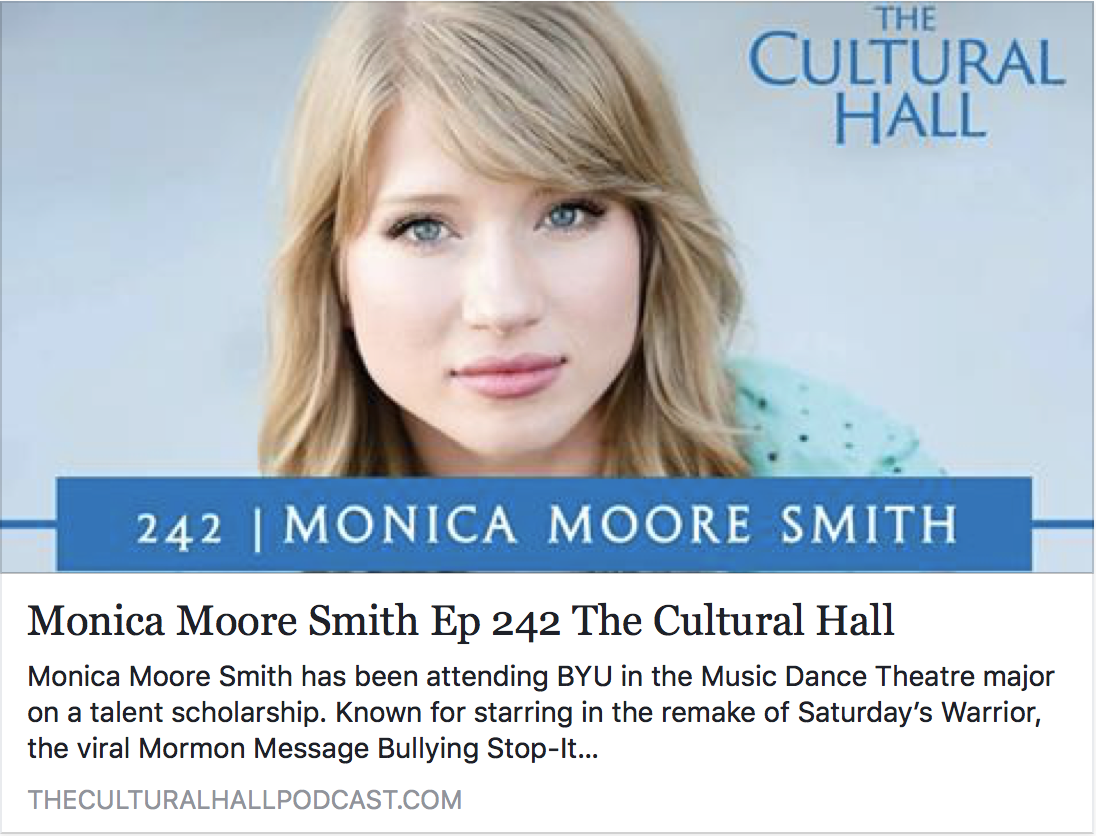 The Cultural Hall Podcast - Monica Moore Smith