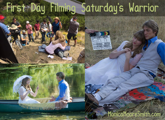 First Day Filming Saturday's Warrior
