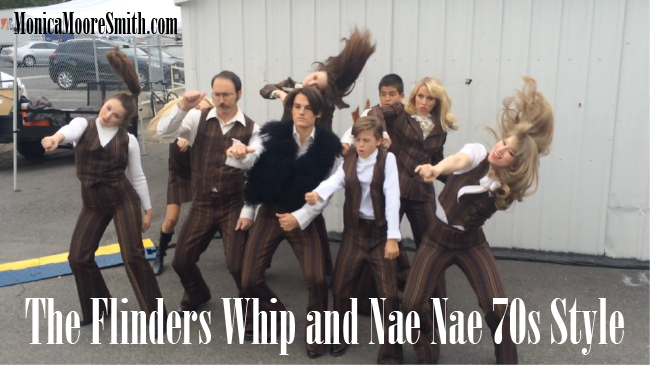 The Flinders Whip and Nae Nae 70s Style