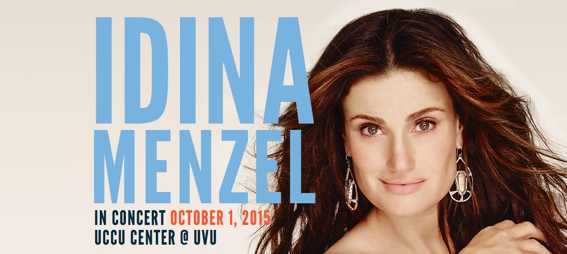Idina Menzel Benefit Concert