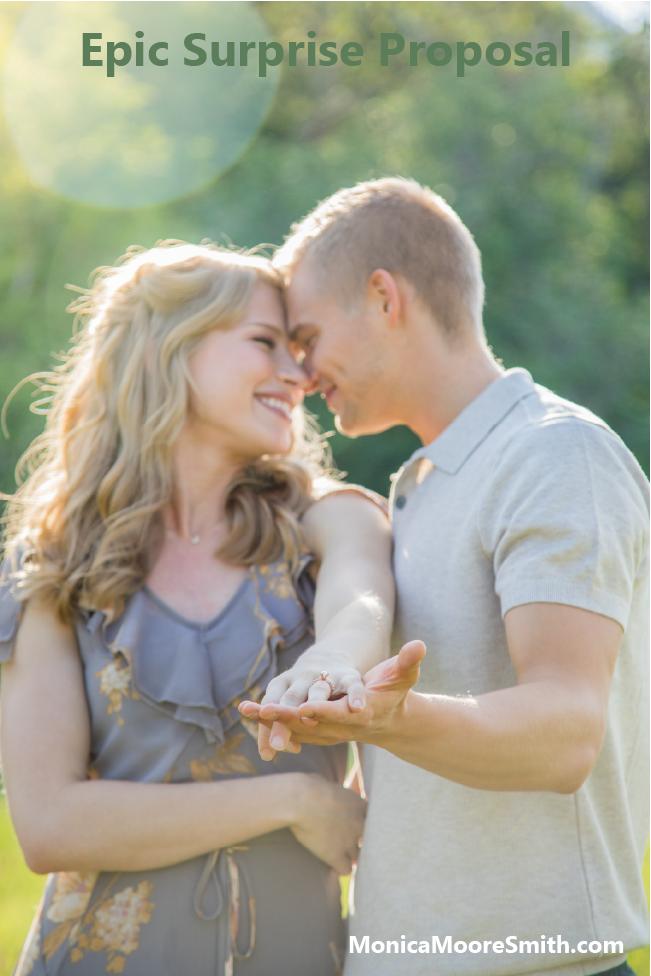 Epic Proposal - We're Engaged