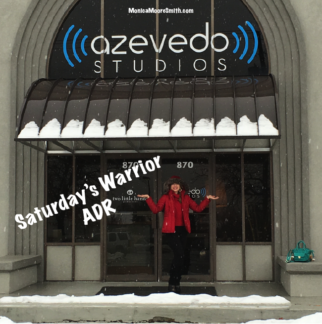 Saturday's Warrior ADR