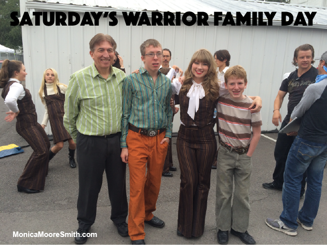 Saturday's Warrior Family Day