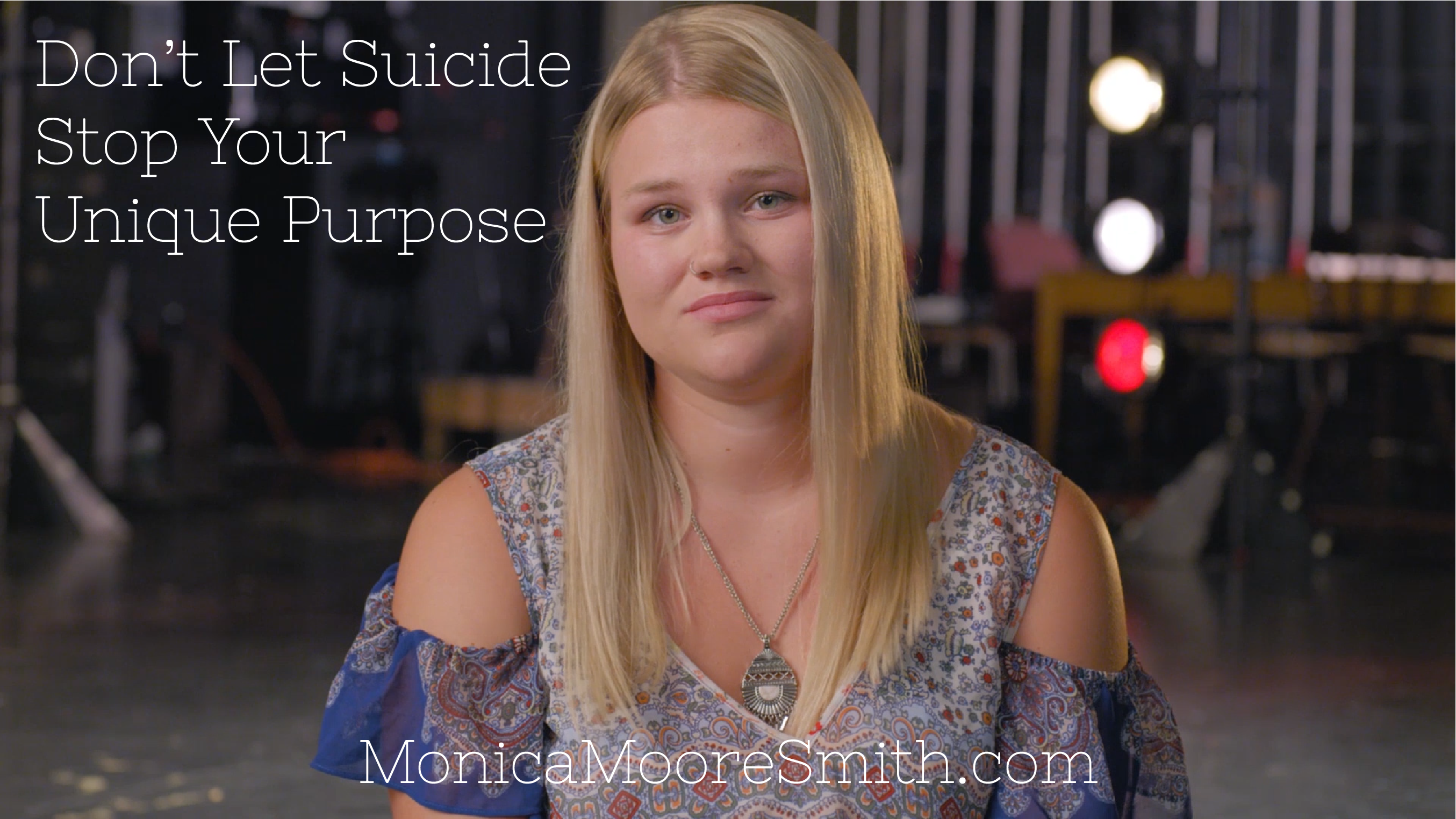 Don't Let Suicide Stop Your Unique Purpose